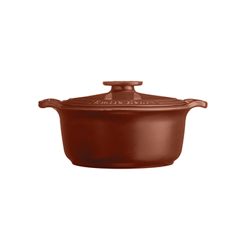 Emile Henry Sublime 4 Qt. Dutch Oven-Sienna Red - EH-144740