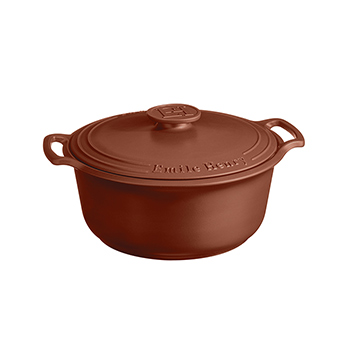 Emile Henry Sublime 7.5 Qt. Dutch Oven-Sienna Red - EH-144770