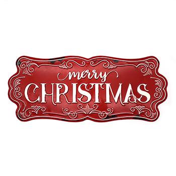 Enamel Sign-Merry Christmas - SAD-X20BF0274