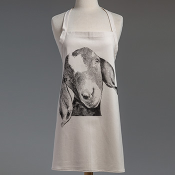 Farm Animal Apron-Goat