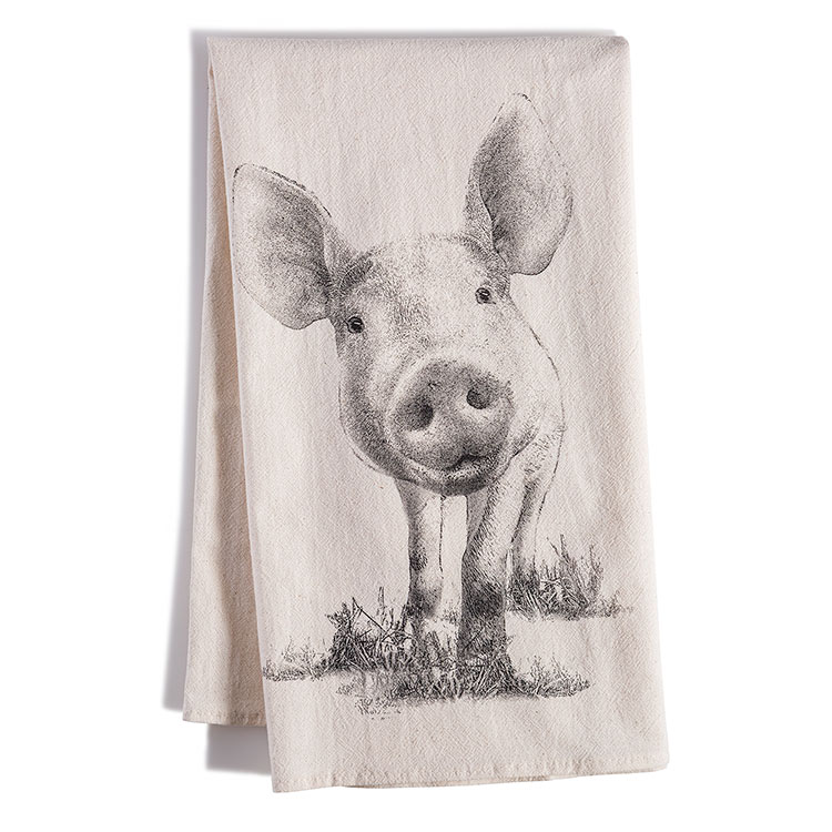 Farm Animal Tea Towel (4 Designs)