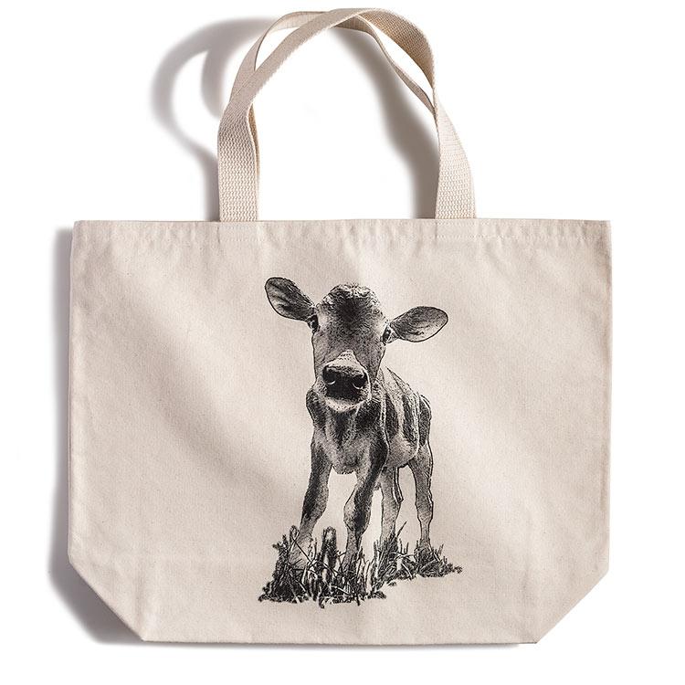 Canvas Tote Bag-Calf