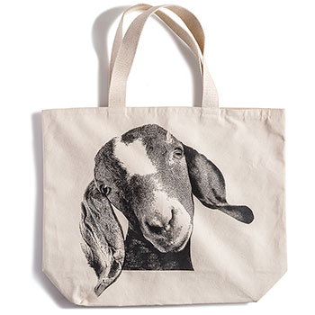Canvas Tote Bag-Goat