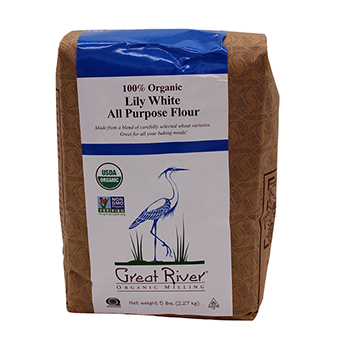 Organic Lily White All Purpose Flour-5 lb