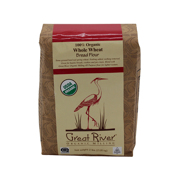 Organic Whole Wheat Flour-2 lb