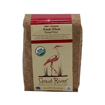 Organic Whole Wheat Flour-2 lb