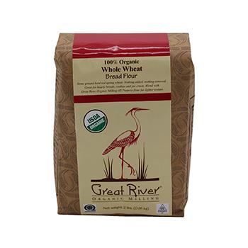 Organic Whole Wheat Flour-2 lb - GROM-11002-4