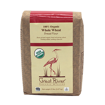 Organic Whole Wheat Flour-5 lb
