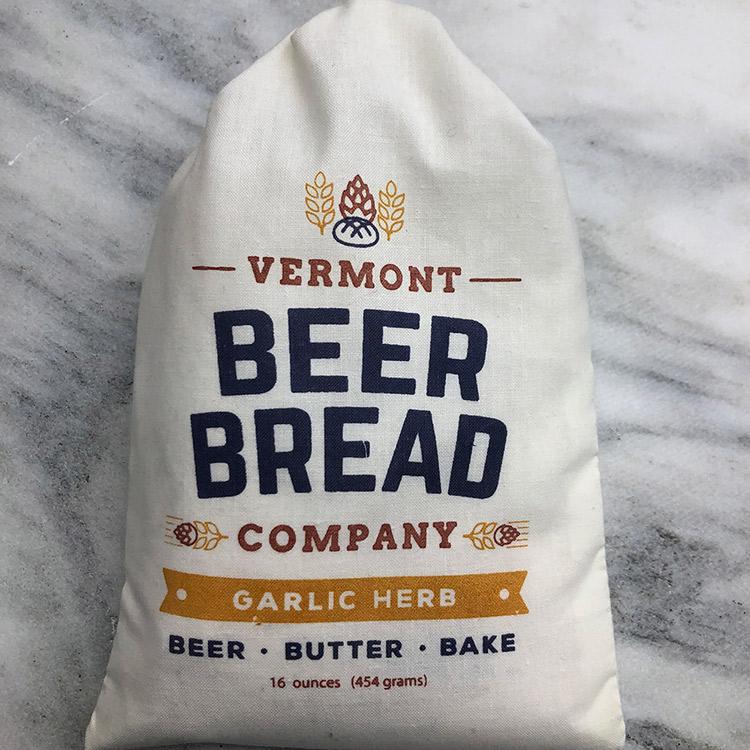 Halladays Vermont Garlic Herb Beer Bread Mix