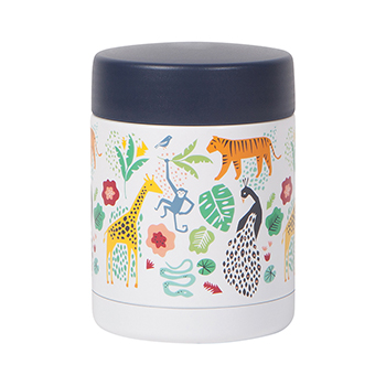 Insulated Food Jar- Wild Bunch