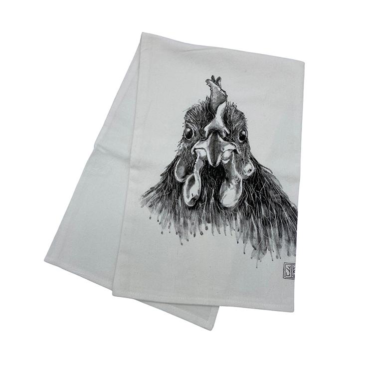 Chicken Tea Towel