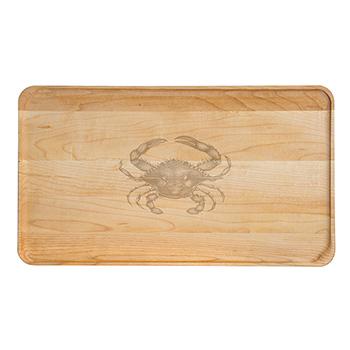 Large Maple Appetizer Plate-Crab - APT-1408-M-CRAB