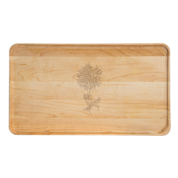 Large Maple Appetizer Plate-Dahlia - APT-1408-M-DAHL