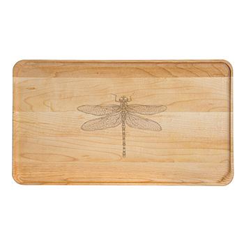 Large Maple Appetizer Plate-Dragonfly - APT-1408-M-DRAG