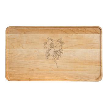 Large Maple Appetizer Plate-Magnolia - APT-1408-M-MAGN
