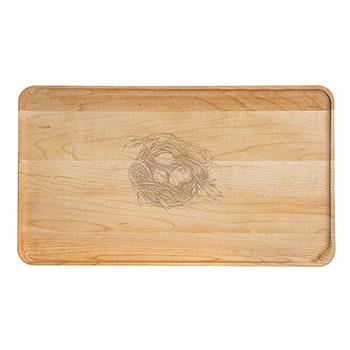 Large Maple Appetizer Plate-Quail's Nest - APT-1408-M-NEST