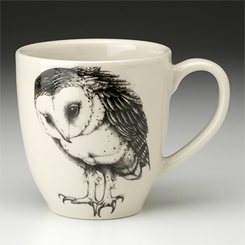 Laura Zindel Mug-Barn Owl