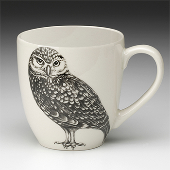 Laura Zindel Mug-Burrowing Owl