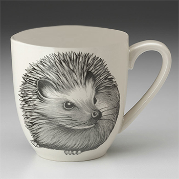Laura Zindel Mug-Hedgehog