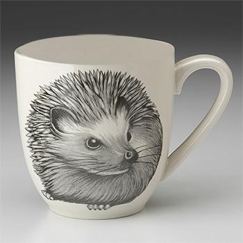 Laura Zindel Mug-Hedgehog