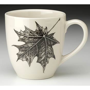 Laura Zindel Mug-Maple Leaf