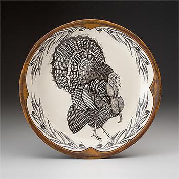 Laura Zindel Round Platter, Turkey