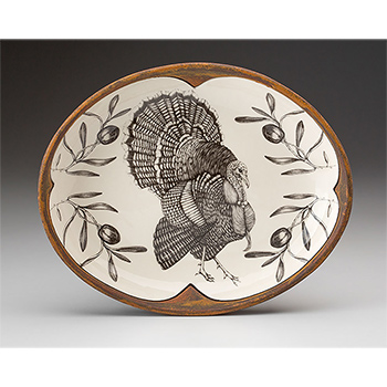 Laura Zindel Small Serving Dish, Turkey