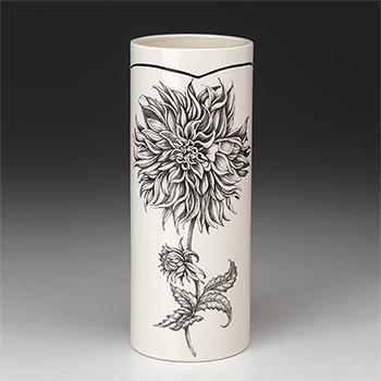 Laura Zindel Small Vase-Dinner Plate Dahlia