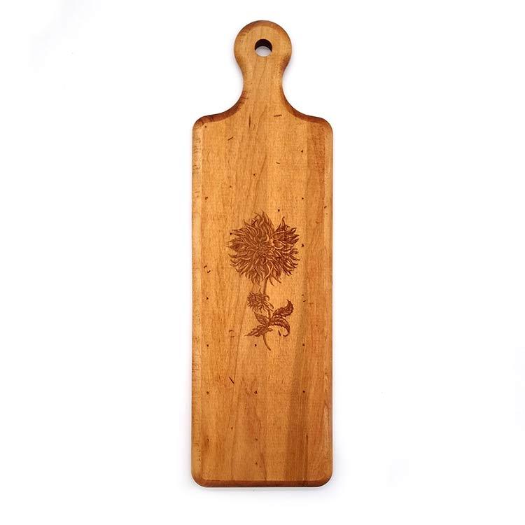 Maple Artisan Plank-Dahlia