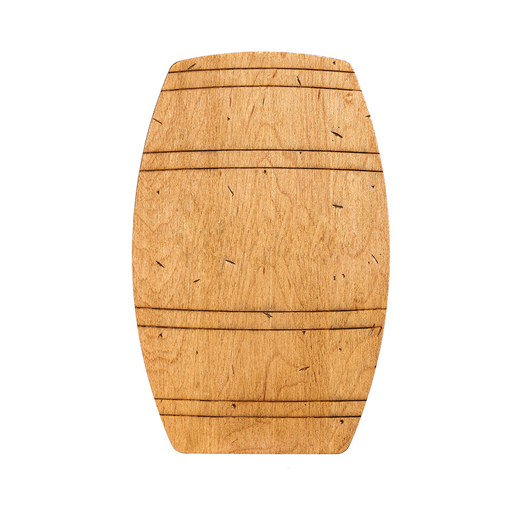 Maple Barrel Shaped Board