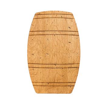 Maple Barrel Shaped Board