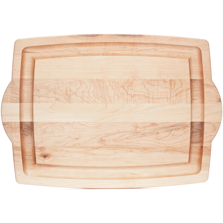 Maple carving board with handles boards j k adams