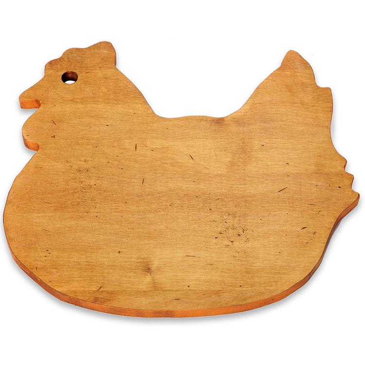 Maple Chicken Shaped Board