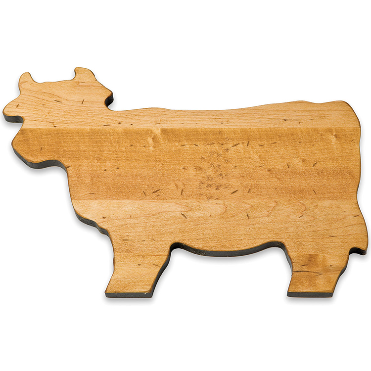 Maple Cow Shaped Board