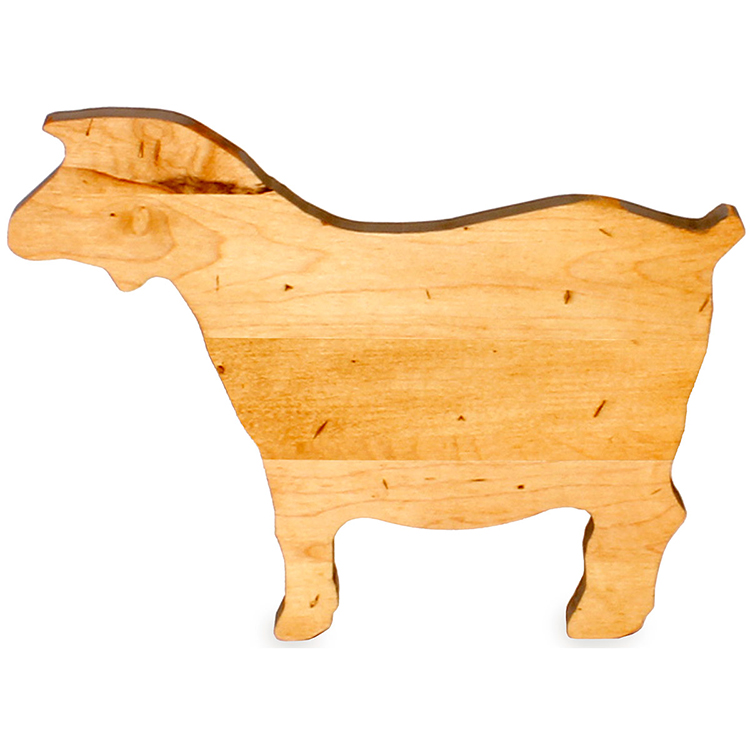 Maple Goat Shaped Board