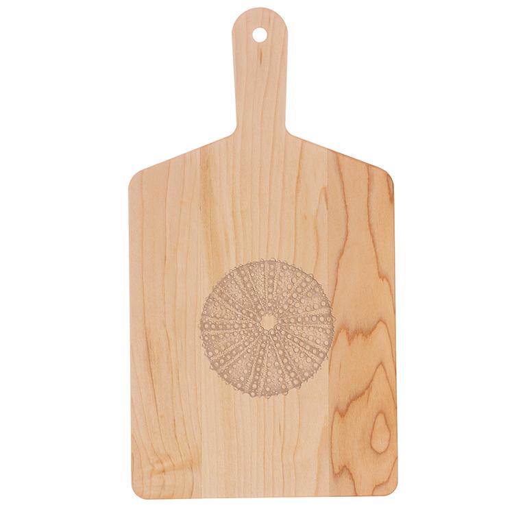 Maple Handle Cheese Board-Sea Urchin