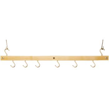 Maple Hanging Bar Pot Rack