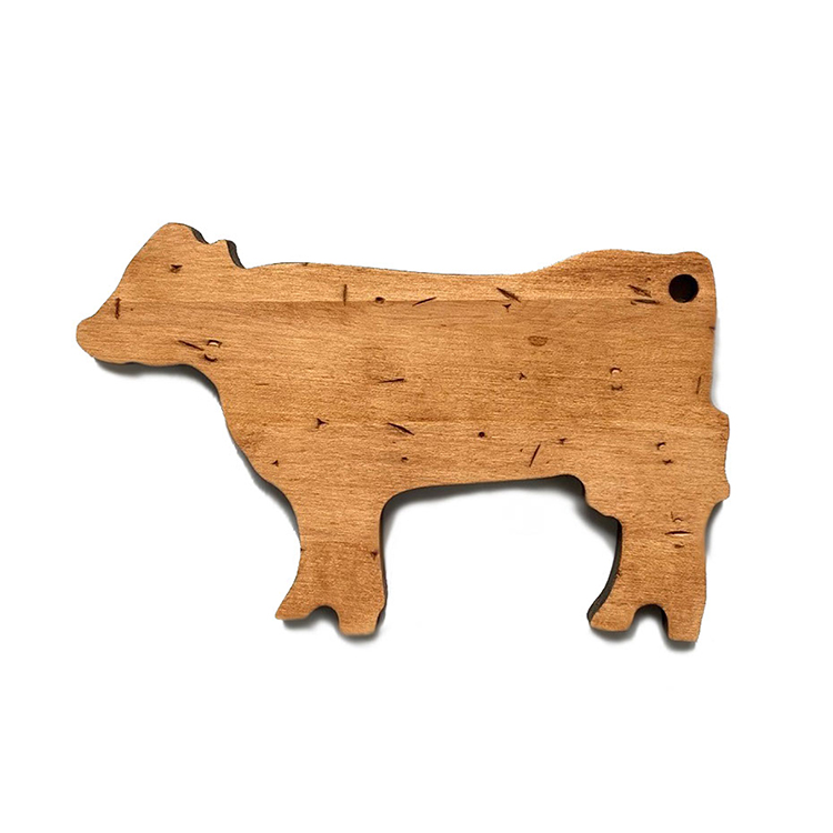 Maple Mini Cow Shaped Board