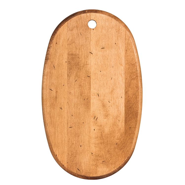 Maple Oval Serving Board