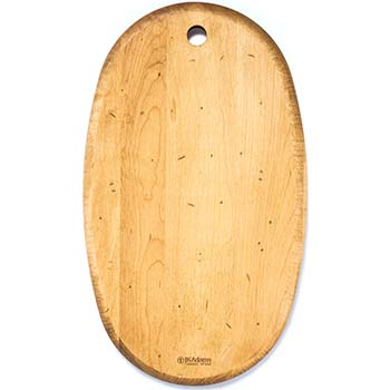 Maple Oval Serving Board