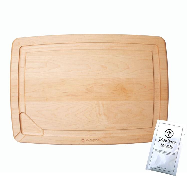Maple Reversible Pour Spout Carving Board