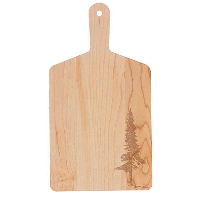 Maple Handle Cheese Board-Fir