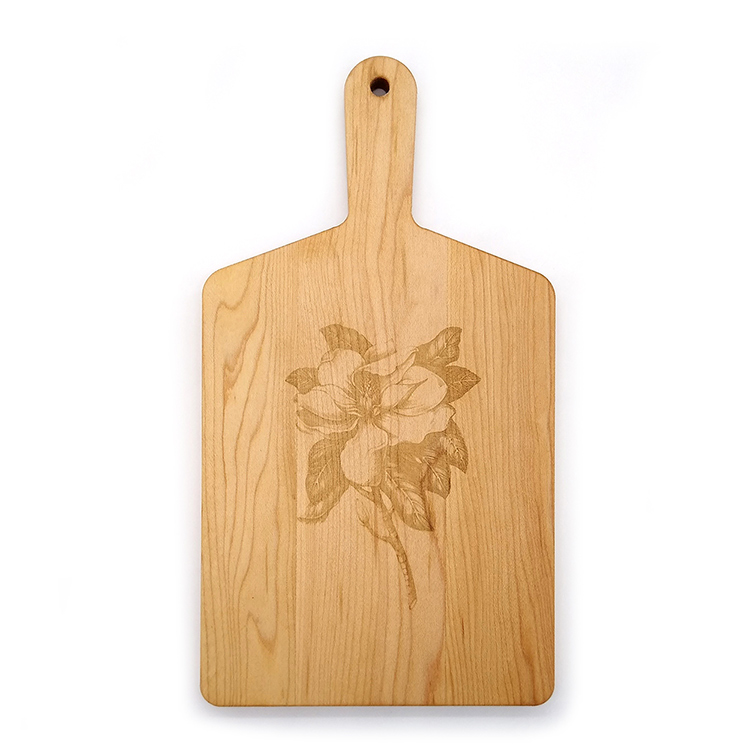Maple Handle Cheese Board-Magnolia