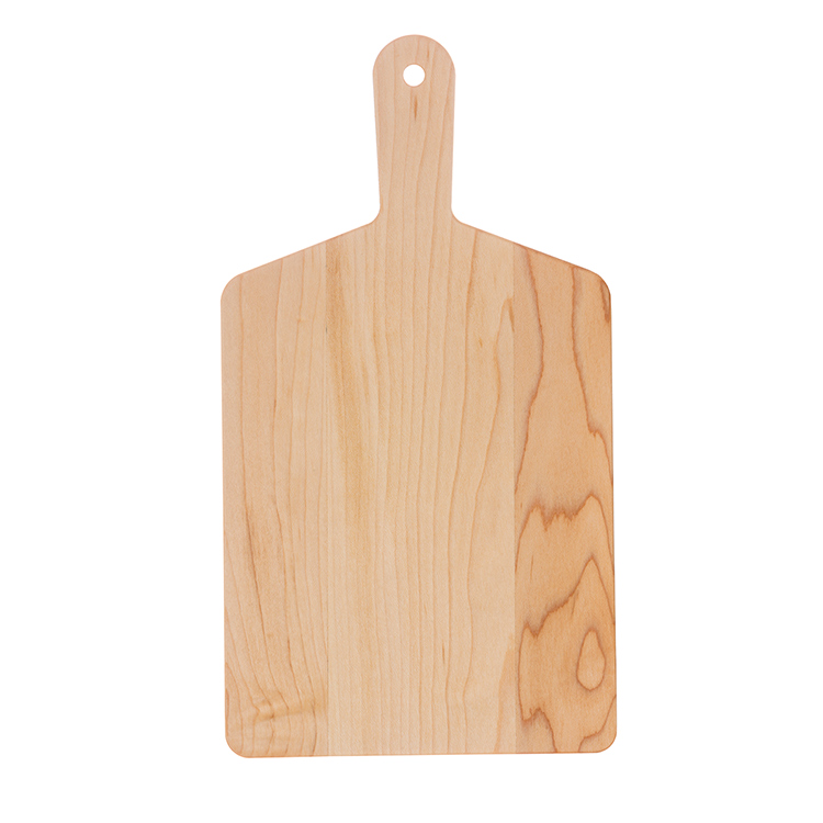 Maple Rectangle Handle Cheese Board