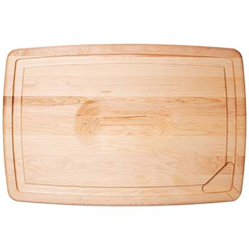 Maple Reversible Pour Spout Carving Board