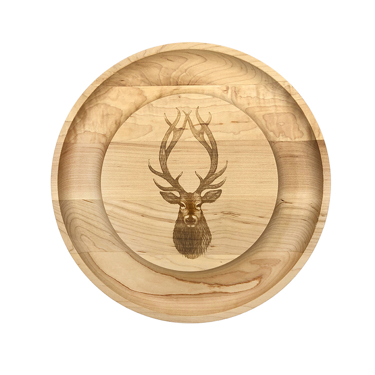 Maple Round Cheese Board-Buck