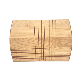 Maple Small Plate-Grid