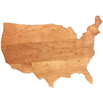 Maple USA Shaped Board - NOV-USA