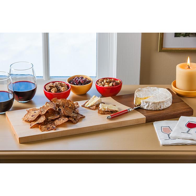 Maple and Walnut Bread Board