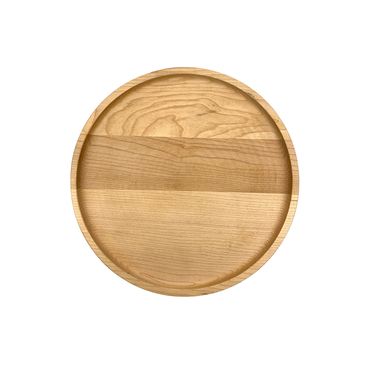 Maple Wood Plate